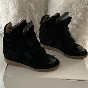 Isabel Marant Over Basket Bekett High-Top Sneaker